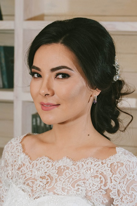 свадебные прически макияж в астане отзывы