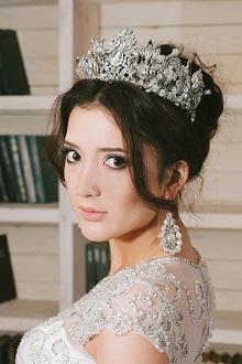 Свадебный макияж и причёска